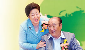 文鮮明・韓鶴子ご夫妻