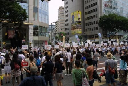 多くの人で賑わう渋谷の街