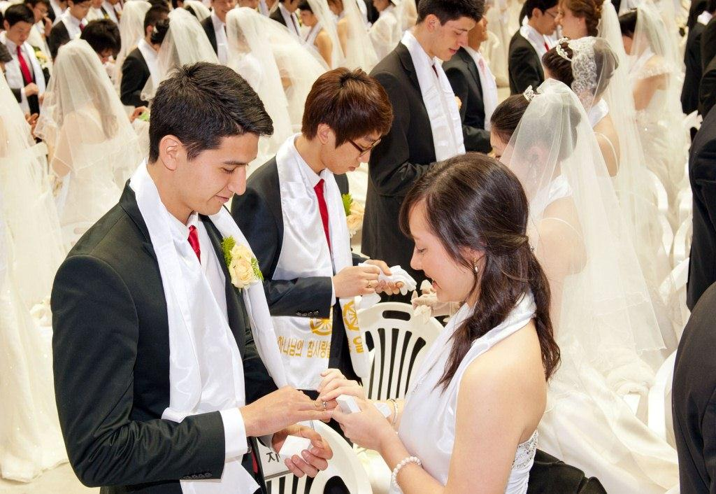 統一 教会 合同 結婚 式