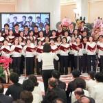 聖歌隊による賛美