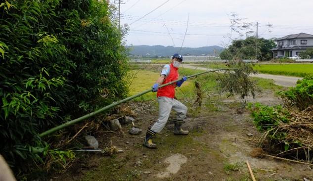 台風18号被害支援②