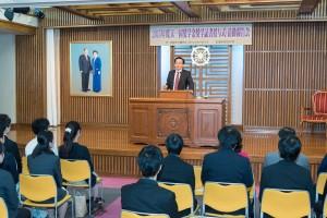 2015年度天一国奨学金授与式・活動報告会②